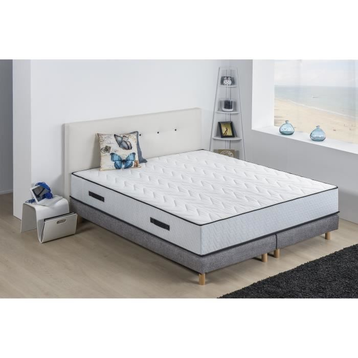 Deko Dream Ensemble Matelas 180x200 Sommiers 2 X90 X 200 Agglolatex 25 Cm 5 Zones Ferme Hotel Grand Luxe Latex Achat Vente Ensemble Literie Cdiscount