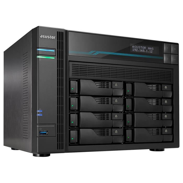 ASUSTOR AS6508T - Barebone Serveur NAS 8 baies 8 Go DDR4...