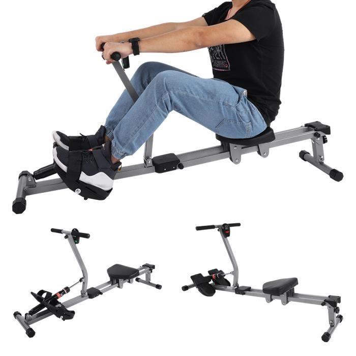 Accessoire de forme physique de gymnastique à la maison de formation de corps de rameur cardio de rameur en acier de machine-XIO
