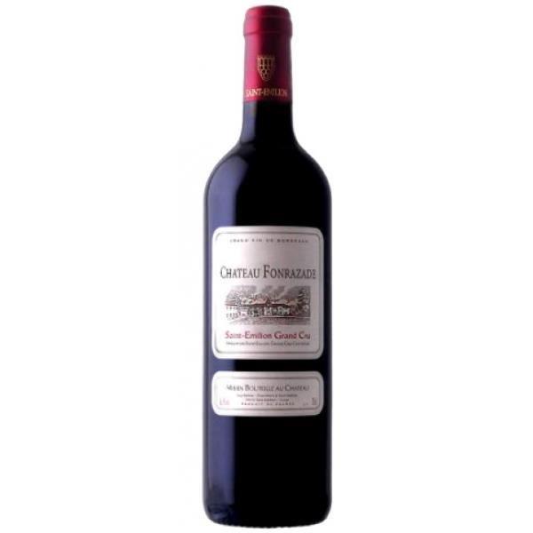 6x Châteaux Fonrazade - Grand Cru Classé - Bordeaux - Rouge - Margaux - 2014