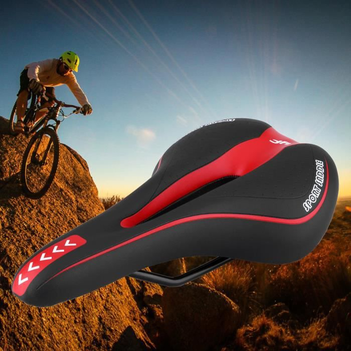 Confort Large Big Bum Bike vélo Gel Cruiser extra sportif Soft Pad Selle cycling 2285