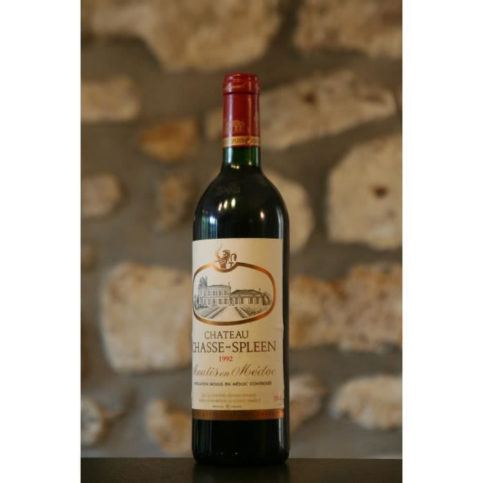 Vin rouge, Château Chasse Spleen 1992 Rouge