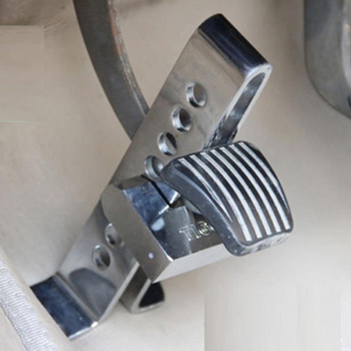 Antivol - Bloque Roue - Car Anti-theft Lock - Antivol pour pédale Auto - Acier inox - livré avec clés - Hauteur jusqu'à 22.5 cm