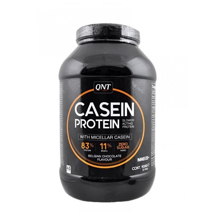 QNT - Casein Protein Quand les conditions d'entrainements de musculation s'intensifient, celles-ci doivent répondre à des objectifs