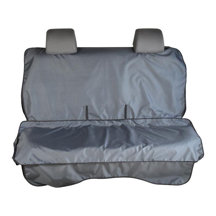 Tapis de protection imperméable à l'eau universel (housse) pour la banquette arrière de votre voiture