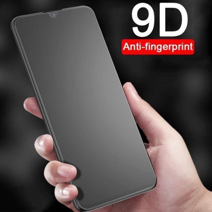 JO Protections d 'écran de téléphone - Verre trempé Anti-empreinte digitale 9D pour Hu.... - Y6 Prime 2019 black -