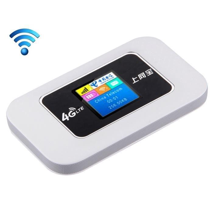 Mini Clé Usb 3G/4G Modem Hotspot Wifi Routeur 802.11 b/g/n Blanc