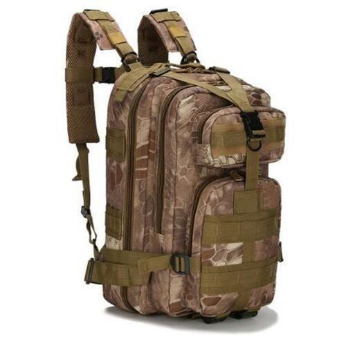Sac à dos tactique militaire étanche en nylon 1000D, pour sports, camping, randonnée, pêche, chasse, capacité 30L