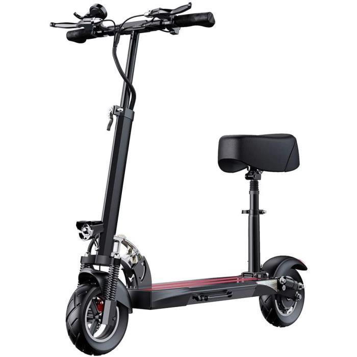 Scooter électrique Scooter électrique avec selle, scooter électrique pliable Scooter électrique adulte puissant, ultra léger[472]