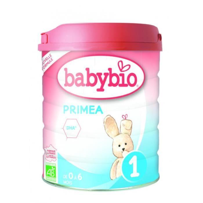 Lait poudre primea 1 - 0 à 6 mois 800gr - Babybio