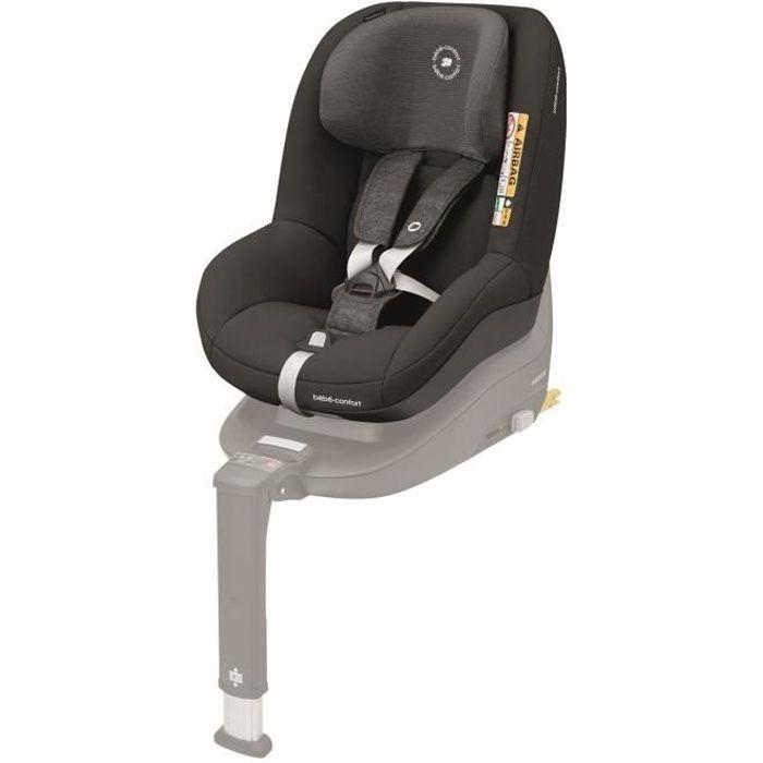 BEBE CONFORT siège auto Pearl Smart i-Size, De 6 mois à 4 ans, Dos et face à la route, Nomad Black