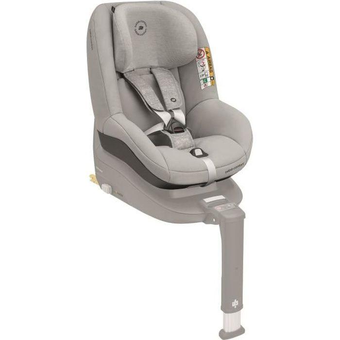 BEBE CONFORT siège auto Pearl Smart i-Size, De 6 mois à 4 ans, Dos et face à la route, Nomad Grey