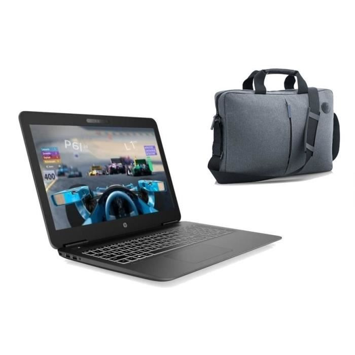 "Pack HP PC Portable Pavilion Gaming 15-bc511nf - 15,6""FHD - i5-9300H - RAM 8Go - Stockage 128Go"