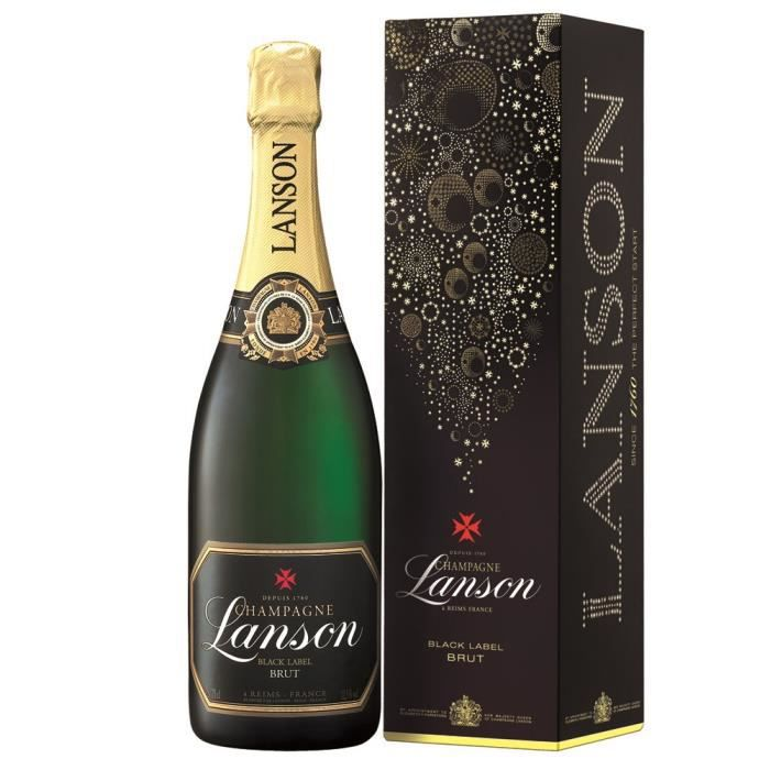 Lanson Black Label Brut etui