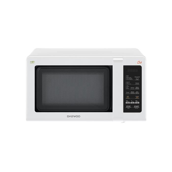 Daewoo kqg-662b Four à micro-ondes avec grill 20 litres, 700 W, blanc