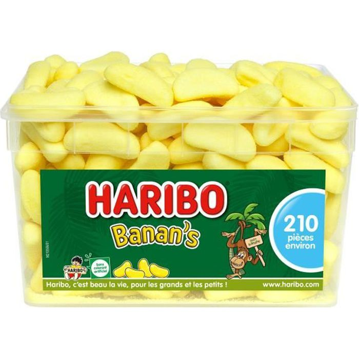 HARIBO Bac 210 Banan's