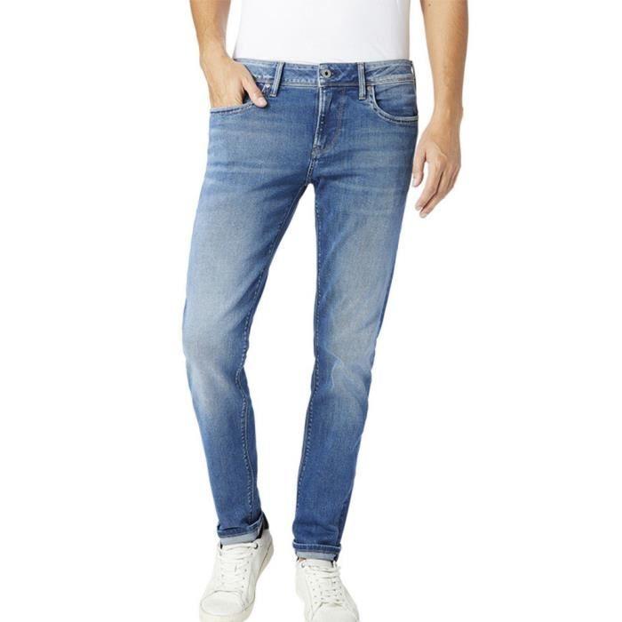 Jeans Slim Bleu Homme Pepe Jeans Hatch
