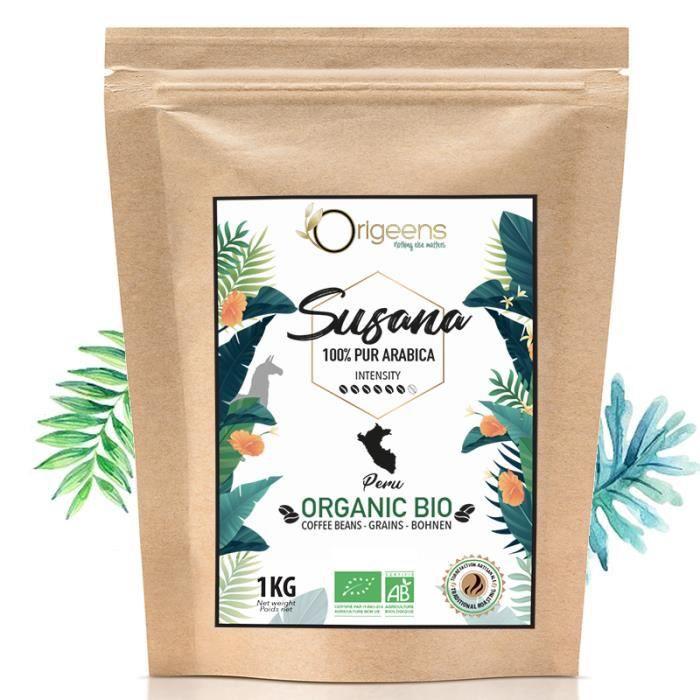 ☘️ CAFE GRAIN BIO 1kg - Café en Grain Arabica - Susana - Single Origin Pérou - Torréfaction Artisanale……