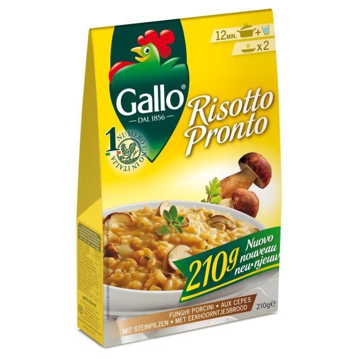 RISO GALLO Risotto Pronto Cepes 210G