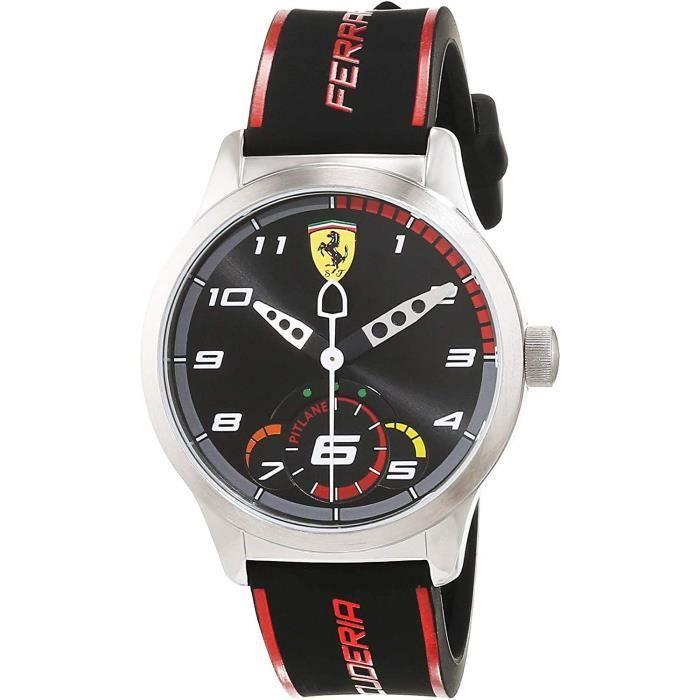 Scuderia Ferrari Mixte Enfant Analogique Quartz Montres bracelet avec bracelet en Silicone - 860003 4783