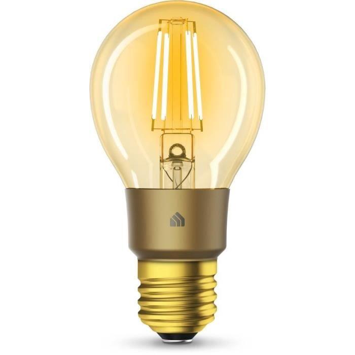 TP-LINK Ampoule connectée WiFi à Filament KL60 Kasa - LED - E27 - 5 W