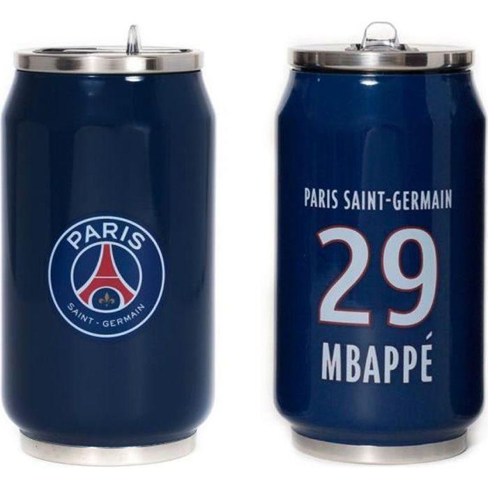 Mug canette isotherme 280 ml PSG Mbappé