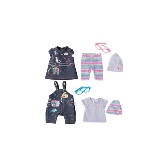 Zapf Creation 822210 - BABY born Deluxe Jeans collection