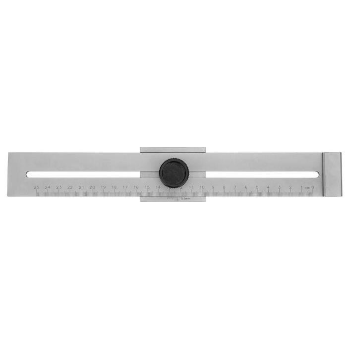 Double marquage Outil m/étrique et imp/érial 0,04 /à 0,88 mm Lot de 3-32 lames de jauge en acier inoxydable Pour mesurer la largeur//l/épaisseur de l/écart Bekith