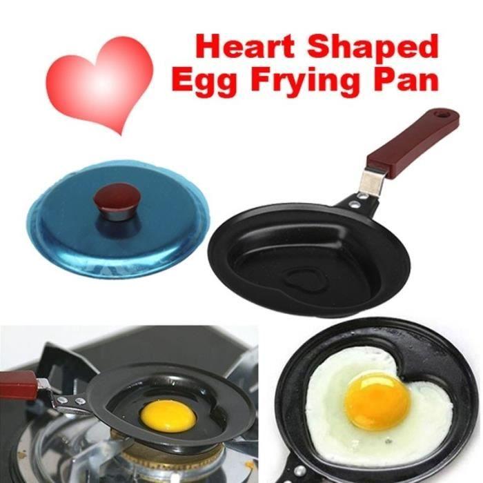 BESTONZON Mini Po/êle 12 CM Portable Pratique Mini Nouveaut/é Antiadh/ésive Po/êle /À Oeuf Omelette Pancake pour faire frire les /œufs et Cuisiner Camping