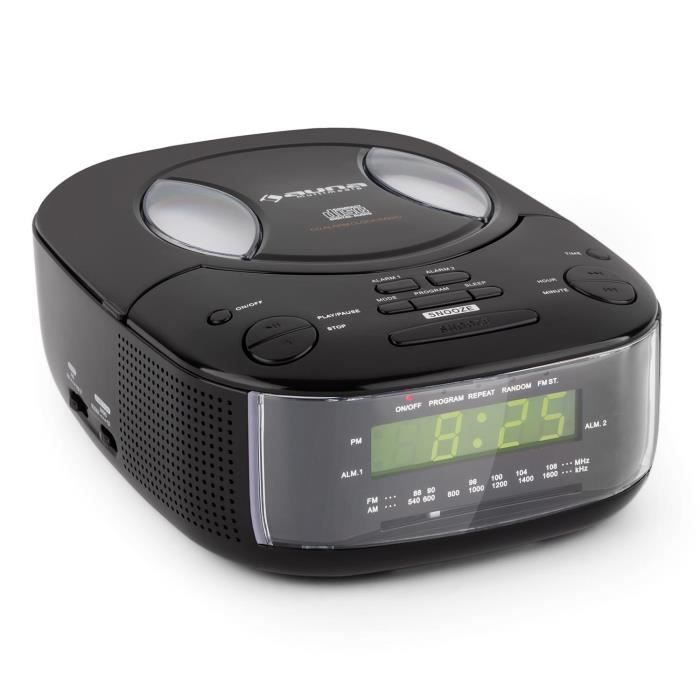 radio reveil lecteur cd achat vente radio reveil lecteur cd pas cher soldes d s le 10. Black Bedroom Furniture Sets. Home Design Ideas