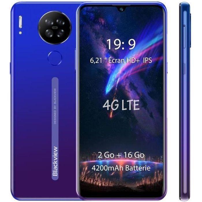 SMARTPHONE Blackview A60 Pro Smartphone 4G 6.1'' Écran 3Go Ra