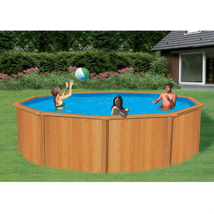 piscine trigano canyon aspect bois achat vente piscine piscine canyon. Black Bedroom Furniture Sets. Home Design Ideas