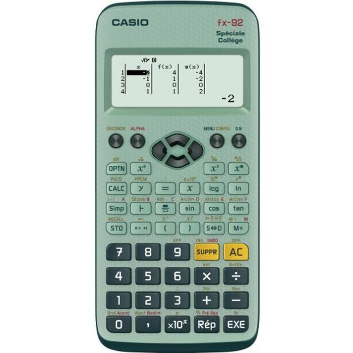 calculatrice scientifique casio android