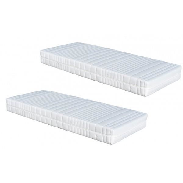 matelas 2 x 70 x 190 dynamic latex armorel relax achat vente matelas cdiscount. Black Bedroom Furniture Sets. Home Design Ideas