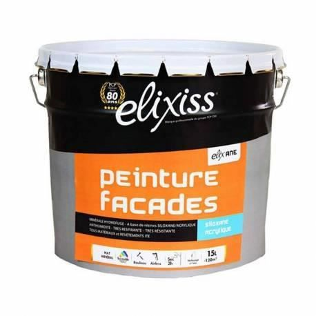peinture fa ade siloxane elixane elixiss 15 l achat vente peinture vernis cdiscount. Black Bedroom Furniture Sets. Home Design Ideas