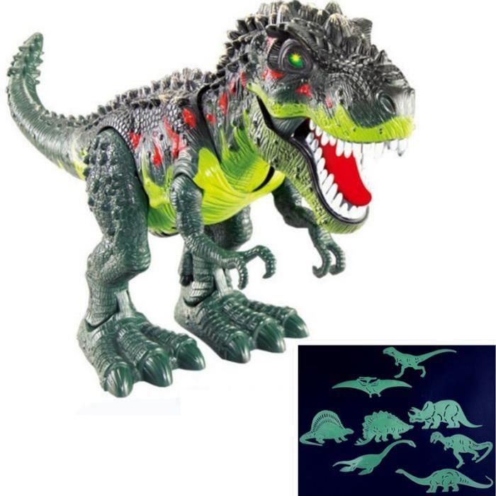 ROBOT - ANIMAL ANIMÉ 5pcs Électrique Dinosaure Parler Jouet Jouets Inte