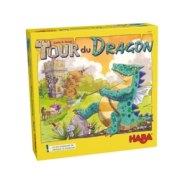 JEU SOCIÉTÉ - PLATEAU Haba - Tour du dragon - HABA