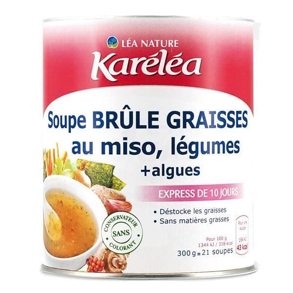 SOUPE KARELEA Soupe brûle graisses au miso et légumes -