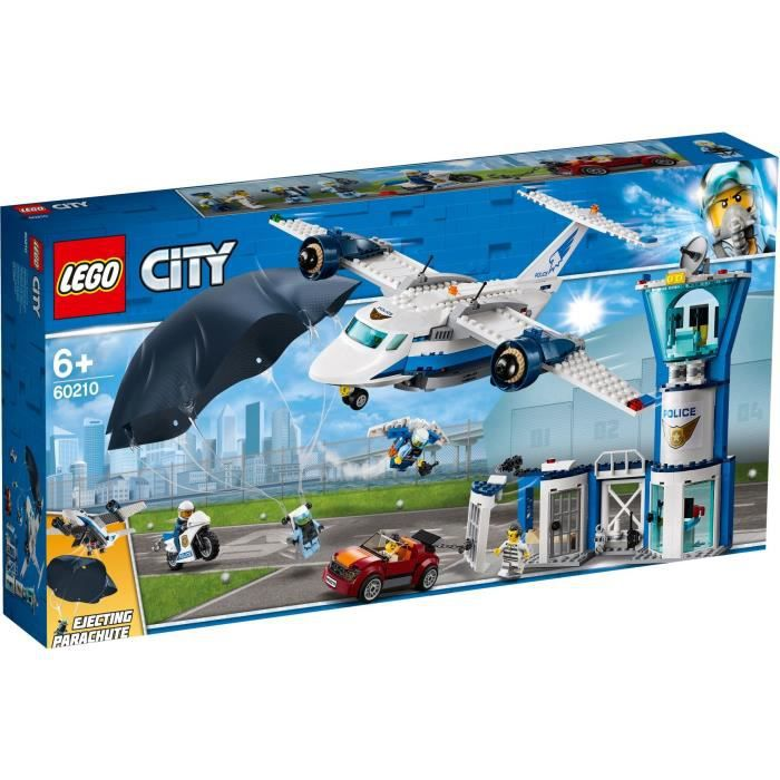 Photo de lego-city-60210-la-base-aerienne-de-la-police-jeu-de