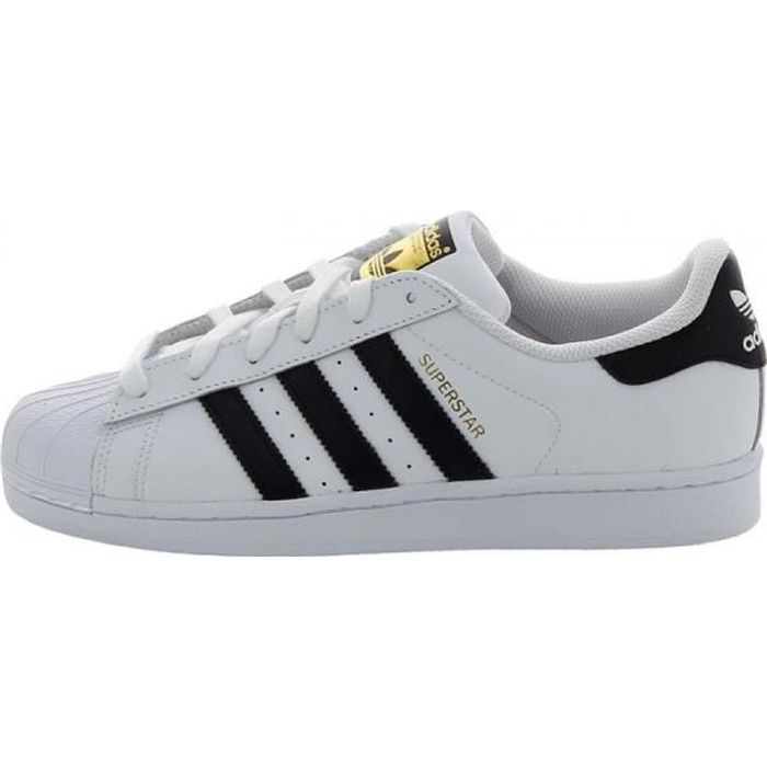 superstar noir bout blanc