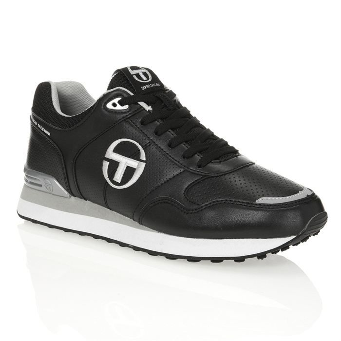 sergio tacchini baskets sonic homme homme noir blanc et. Black Bedroom Furniture Sets. Home Design Ideas