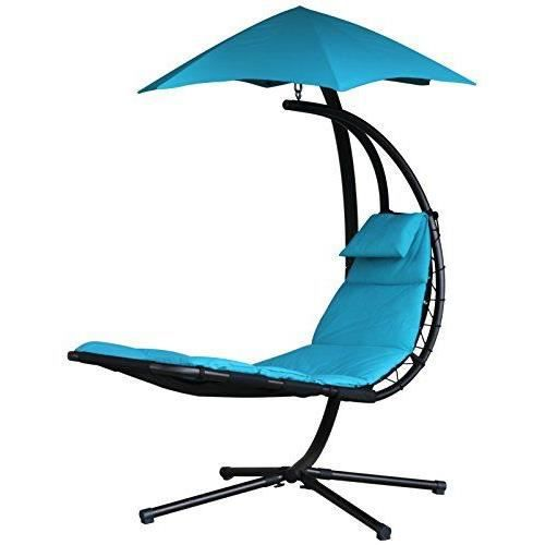 vivere dream tt r veuse originale chaise suspendue acier turquoise 187 x 104 x 213 cm achat. Black Bedroom Furniture Sets. Home Design Ideas