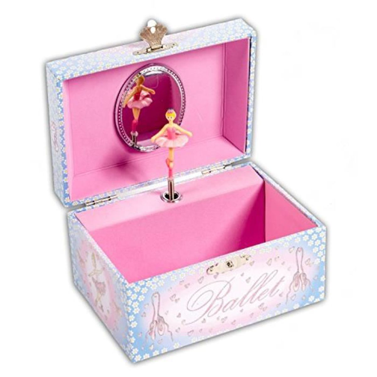 bo te bijoux musicale de ballet coffret bijoux rose pour. Black Bedroom Furniture Sets. Home Design Ideas
