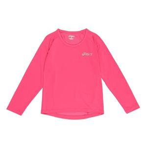T-SHIRT ASICS T-shirt Manches Longues Enfant fille - Rose