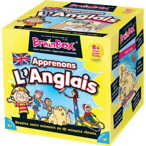 JEU D'APPRENTISSAGE BRAINBOX  Apprenons Anglais - Jeu d'apprentissage