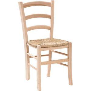 si/ège fonds Panneau de chaise en paille bois paesana