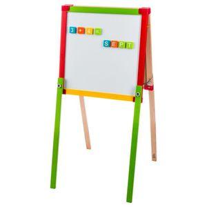 TABLEAU ENFANT Tableau en bois double face - H. 92 cm - Multicolo