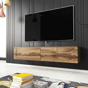 MEUBLE TV Meuble TV / Meuble de salon - KANE - 140 cm - chên