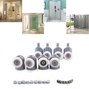 Swing Poulie salle de bain douche en verre Double Roue Porte Coulissante Battant De Fenêtre Rouleau