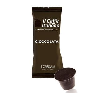 CAFÉ 50 Capsules  de Café Chocolat  aromatisé  compatib